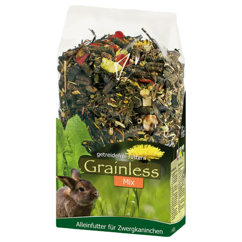 JR Farm Herbs Grainless Dwarf Rabbit Food Mix