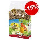 JR Farm Individual pour canari : 15 % de remise !