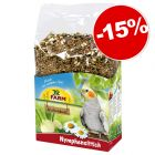 JR Farm Individual pour perruche calopsitte : 15 % de remise !