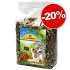 JR Farm Super 4 kg pour rongeur et lapin : 20 % de remise !