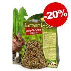 JR Grainless Cloche de foin, hibiscus pour rongeur : 20 % de remise !