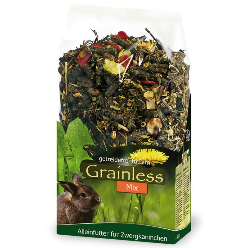 JR Grainless Mix para conejos enanos
