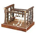 Juguete de madera Natural Living Trixie para periquitos