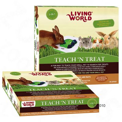 Juguete inteligencia para conejos Living World  3 en 1