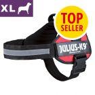JULIUS-K9® Power Red, XL, szelki dla psa