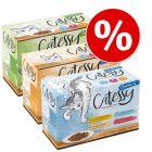 Jumbo varčno pakiranje: Catessy koščki 108 x 100 g