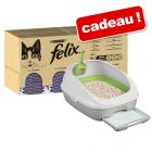 Jumbopack Felix 120 x 100 g + Kit PURINA Tidy Cats Breeze offert !