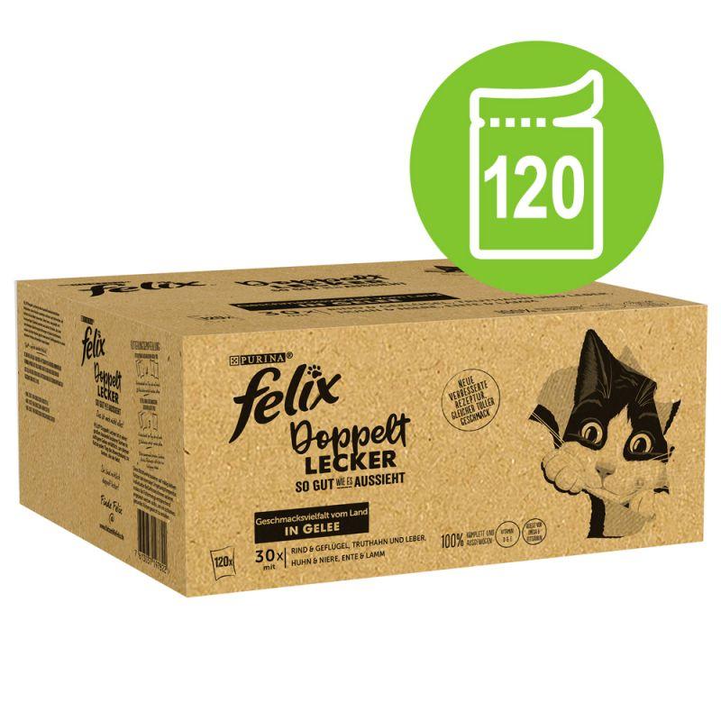 """Jumbopack: Felix """"So gut wie es aussieht"""" 120 x 85 g"""