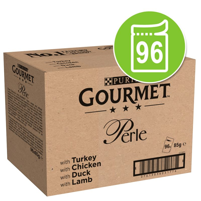 Jumbopack: Gourmet Perle 96 x 85 g