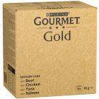 Jumbopakke: Gourmet Gold 96 x 85 g