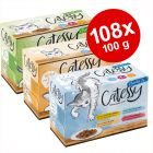 Jumbo-säästöpakkaus: Catessy-pussiruoat 108 x 100 g