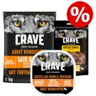 Kanonpris: 1 kg Crave Adult foder + Crave Adult Paté + Crave Snacks!