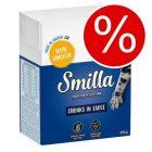 Kanonpris! 24 x 370/380 g Smilla Chunks i sås/gelé