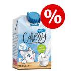Kanonpris! 24 x 200 ml Catessy kattmjölk