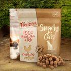 Kao međuobrok: Purizon Snack za mačke - piletina i riba