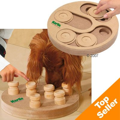 Karlie Doggy Brain Train 2in1 Dog Intelligence Toy