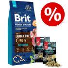 Karma Brit + Maced Super Premium Naturel Crispy, kaczka, 2 x 80 g w super cenie!