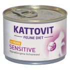 Kattovit Sensitive (hypoallergénique) 6 x 175 g pour chat