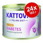 Kattovit Diabetes / Gewicht в консерви 24 x 185 г