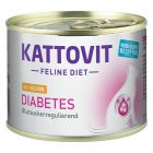 Kattovit Diabetes 6 x 175 g pour chat