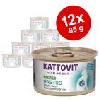 Kattovit Gastro, dåser 12 x 85 g