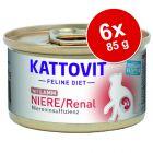 Kattovit Niere/Renal Conserve 6 x 85 g