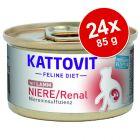 Kattovit Niere/Renal Conserve 24 x 85 g
