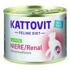 Kattovit Niere/Renal в консерви 6 x 185 г
