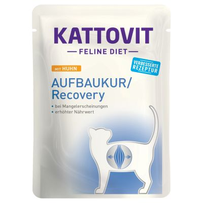 Kattovit Recovery Pouches 24 x 85g
