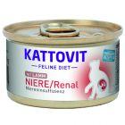 Kattovit Renal spécial reins 6 x 85 g pour chat