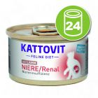 Kattovit Renal spécial reins 24 x 85 g pour chat