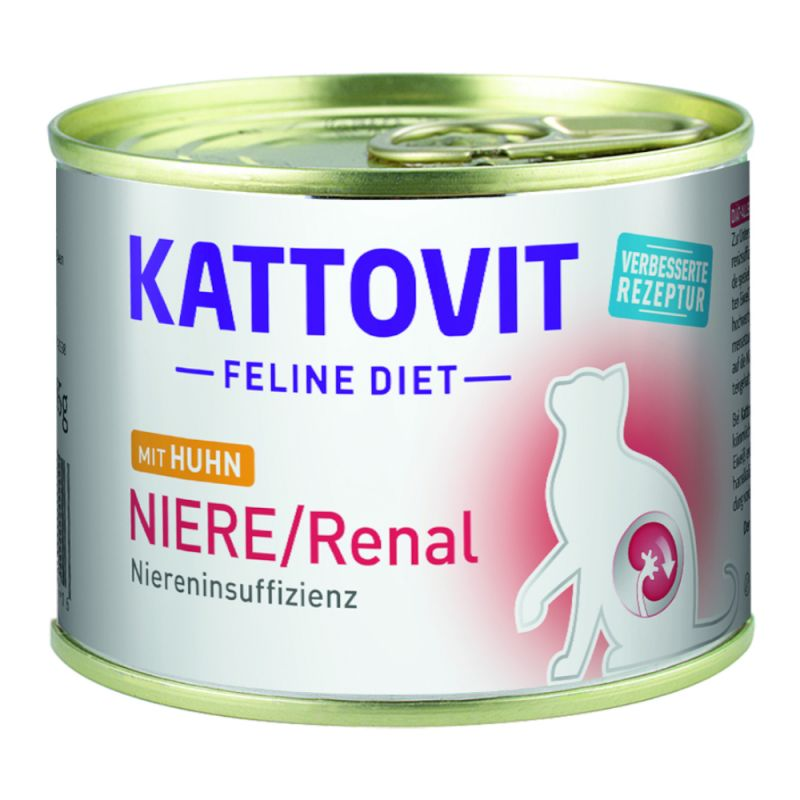 Kattovit Renal spécial reins 6 x 175 g pour chat