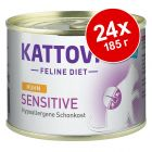 Kattovit Sensitive в консерви 24 х 185 г