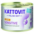 Kattovit Sensitive Conserve 12 x 185 g