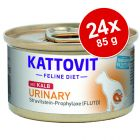 Kattovit Urinary Conserve 24 x 85 g