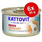 Kattovit Urinary Conserve 6 x 85 g