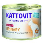 Kattovit Urinary (struvit-diæt), dåse 6 x 185 g