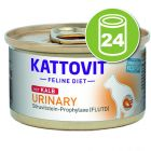 Kattovit Urinary 24 x 85 g pour chat