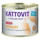 Kattovit Urinary 6 x 185 g pour chat
