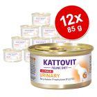 Kattovit Urinary 12 x 85 g pour chat