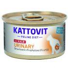 Kattovit Urinary 6 x 85 g pour chat