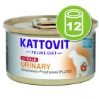 Kattovit Urinary 12 x 85 g pour chat