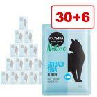 36 + 6 kaupan päälle! Cosma Nature -säästöpakkaus 42 x 50 g