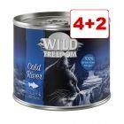 4 + 2 kaupan päälle! Wild Freedom Adult 6 x 200 / 400 g
