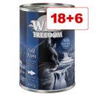 18 + 6 kaupan päälle! Wild Freedom 24 x 400 g