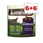 6 + 6 kaupan päälle! 12 x 90 g AdVENTuROS-koiranherkut