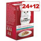 24 + 12 kaupan päälle! 36 x 50 g Gourmet Mon Petit -mix