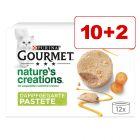 10 + 2 kaupan päälle! 12 x 85 g Gourmet Nature's Creations