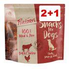 2 + 1 kaupan päälle! 3 x 100 g Purizon-koiranherkut