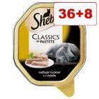 36 + 8  kaupan päälle! 44 x 85 g Sheba-kissanruokarasiat